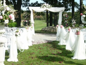 Проведение свадьбы на природе. Свадьба на природе
