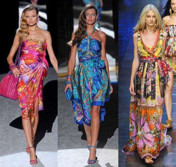 Пляжные платья 2012 – выбери свое