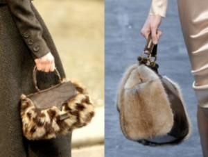 модные сумки 2012 - фото cумок из меха на зиму.
