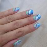 Акриловые рисунки на ногтях — роспись ногтей акриловыми красками